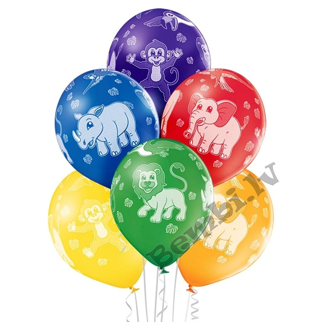 Baloni ar attēlu
